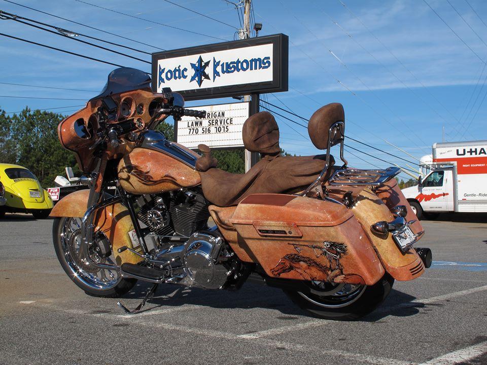 Urban Hd Riders 187 At Kotic Kustoms In Atl Woodstock Ga